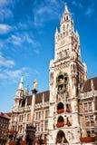 慕尼黑市政厅 免版税库存照片