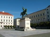 慕尼黑方形wittelsbach 免版税库存照片