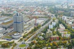 慕尼黑都市风景 免版税库存图片
