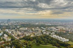 慕尼黑都市风景 图库摄影