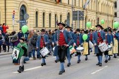 慕尼黑,巴伐利亚,德国- 2018年3月11日:在带前面的焦点 库存图片