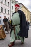 慕尼黑,巴伐利亚,德国- 2016年3月13日:衣裳的人们  免版税图库摄影