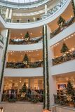 慕尼黑,德国- 2017年11月3日:几圣诞节装饰 库存图片
