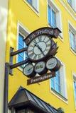 慕尼黑,德国- 2017年10月20日:金银手饰店J的标志 B 免版税库存图片