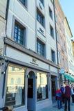 慕尼黑,德国- 2017年10月20日:陈列室和商店标志o 免版税库存照片