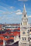 慕尼黑,德国 老城镇 库存照片