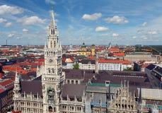 慕尼黑,德国 老城镇 图库摄影