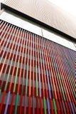 慕尼黑, Brandhorst博物馆五颜六色的门面 免版税库存照片