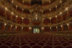 慕尼黑Residenz洛可可式的歌剧院  库存图片