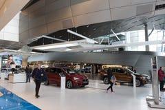 """慕尼黑†""""1月30日:BMW鞭痕,慕尼黑,德国 图库摄影"""