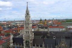 慕尼黑全景 免版税库存图片