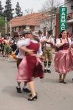 慕尼黑啤酒节在别墅贝尔格拉诺一般 免版税库存照片