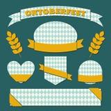 慕尼黑啤酒节标签汇集 库存图片