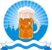 慕尼黑啤酒节设计 免版税图库摄影