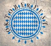 慕尼黑啤酒节邮票样式 库存照片