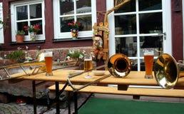 慕尼黑啤酒节,德国 库存照片