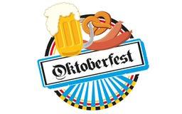 慕尼黑啤酒节 库存图片