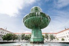 慕尼黑喷泉 图库摄影