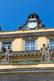 慕尼黑大厦时钟ditail 库存照片