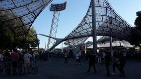 慕尼黑奥林匹亚体育场 免版税库存照片