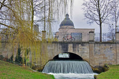 慕尼黑市公园 库存照片