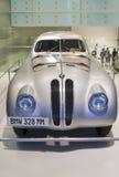 慕尼黑-德国, 6月17日:BMW在BMW博物馆显示的328 MM种族  库存照片