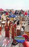 慕尼黑德国-露天巨型跳蚤市场(Riesenflohmarkt) 免版税库存图片