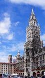 慕尼黑-新的市政厅 免版税库存图片