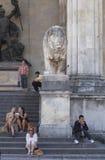 慕尼黑-巴法力亚资本 免版税图库摄影