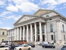 慕尼黑状态歌剧院 免版税库存图片