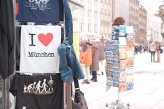 慕尼黑纪念品 免版税库存图片