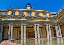 慕尼黑老大厦庭院 免版税库存图片
