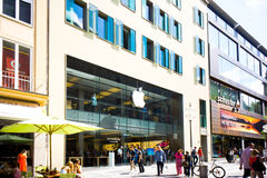 慕尼黑苹果计算机商店 库存图片