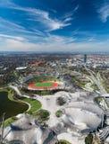 慕尼黑,奥林匹亚公园 库存照片
