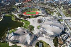 慕尼黑,奥林匹亚公园 免版税库存照片