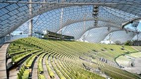 慕尼黑,德国, 2016年4月24日:奥林匹克体育场的看法在慕尼黑德国 库存图片
