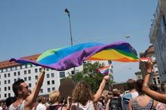 慕尼黑,德国- 2015年7月11日:克里斯托弗街天-游行 库存照片