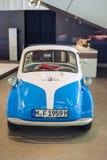 慕尼黑,德国2012年6月17日:在展示的BMW Isetta小汽车 库存图片