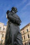 慕尼黑,德国- 2011年10月16日:马克西门科冯Montglas伯爵雕象  图库摄影