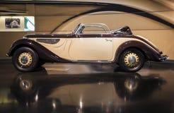 慕尼黑,德国2012年6月17日:BMW 327/28系列Cabrio小轿车o 免版税库存照片