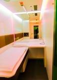 慕尼黑,德国- 2016年5月16日:Napcab在空气的睡觉客舱 免版税图库摄影