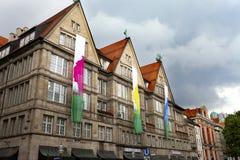 慕尼黑,德国- 2012年5月29日:Neuhauser街道在慕尼黑 库存图片