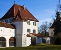 慕尼黑,德国- Blutemburg城堡,老公爵的住所 库存图片