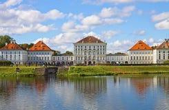 慕尼黑,德国- Nymphenburg城堡 库存图片