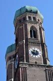 慕尼黑Frauenkirche 库存照片