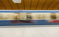 慕尼黑U-Bahn 库存图片
