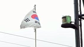 慢动作韩国沙文主义情绪在渔船风在韩国 影视素材