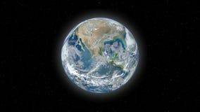 慢地球的徒升 向量例证
