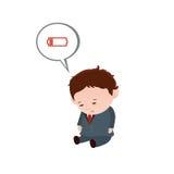 慢性疲劳综合症状 库存图片