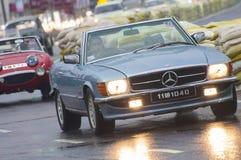 慢老斯里兰卡的英国的汽车 免版税库存照片